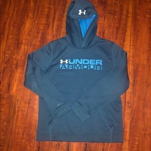 Under Armour Shirts & Tops - 2 Under Armour Hoodies Boys Large